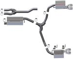 MagnaFlow Stainless Steel Cat-Back Exhaust System - Gas