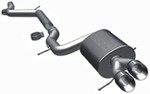 MagnaFlow Cat-Back Exhaust System - Stainless Steel - Gas