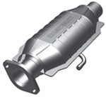 MagnaFlow Ceramic Catalytic Converter w/ Single Air Tube - Stainless Steel - Direct Fit