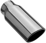 "MagnaFlow 2-1/2"" x 3-1/5"" Exhaust Tip - Stainless, Weld-On for 2-1/4"" Tailpipe"