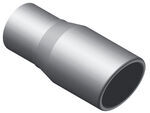 "MagnaFlow 3"" Exhaust Tip - Stainless, Weld-On for 2-1/2"" Tailpipe - 6-3/4"" Long"