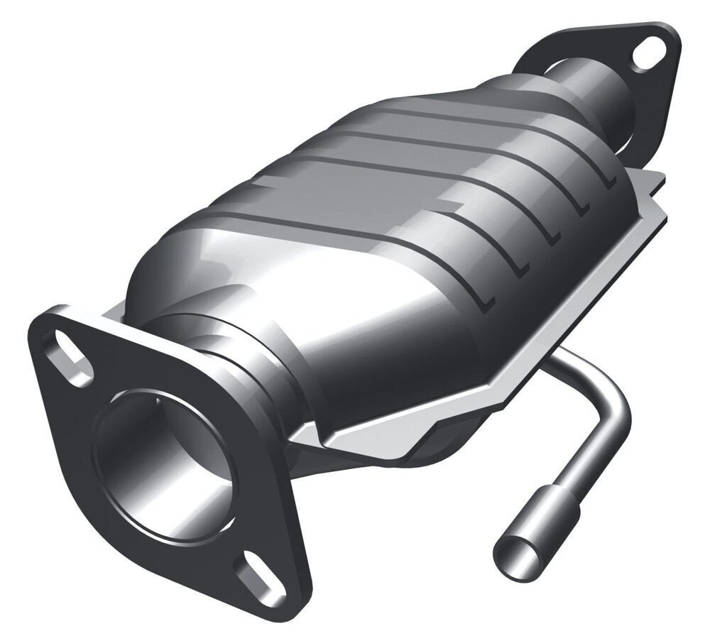magnaflow ceramic catalytic converter w   single air tube