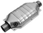 MagnaFlow Stainless Steel Catalytic Converter - Universal - California Approved