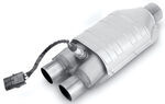 MagnaFlow Ceramic Catalytic Converter w/O2 Port - Stainless Steel - Universal
