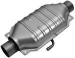 MagnaFlow Stainless Steel Catalytic Converter w/ Single Air Tube - Universal
