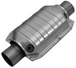 MagnaFlow Heavy Metal Loaded, Stainless Steel Catalytic Converter w/ Dual O2 Ports - Universal