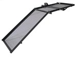Flip-Up Mobility Scooter Carrier - Longer Ramp - Black