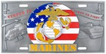 Marines Specialty Plate - 3D License Plate