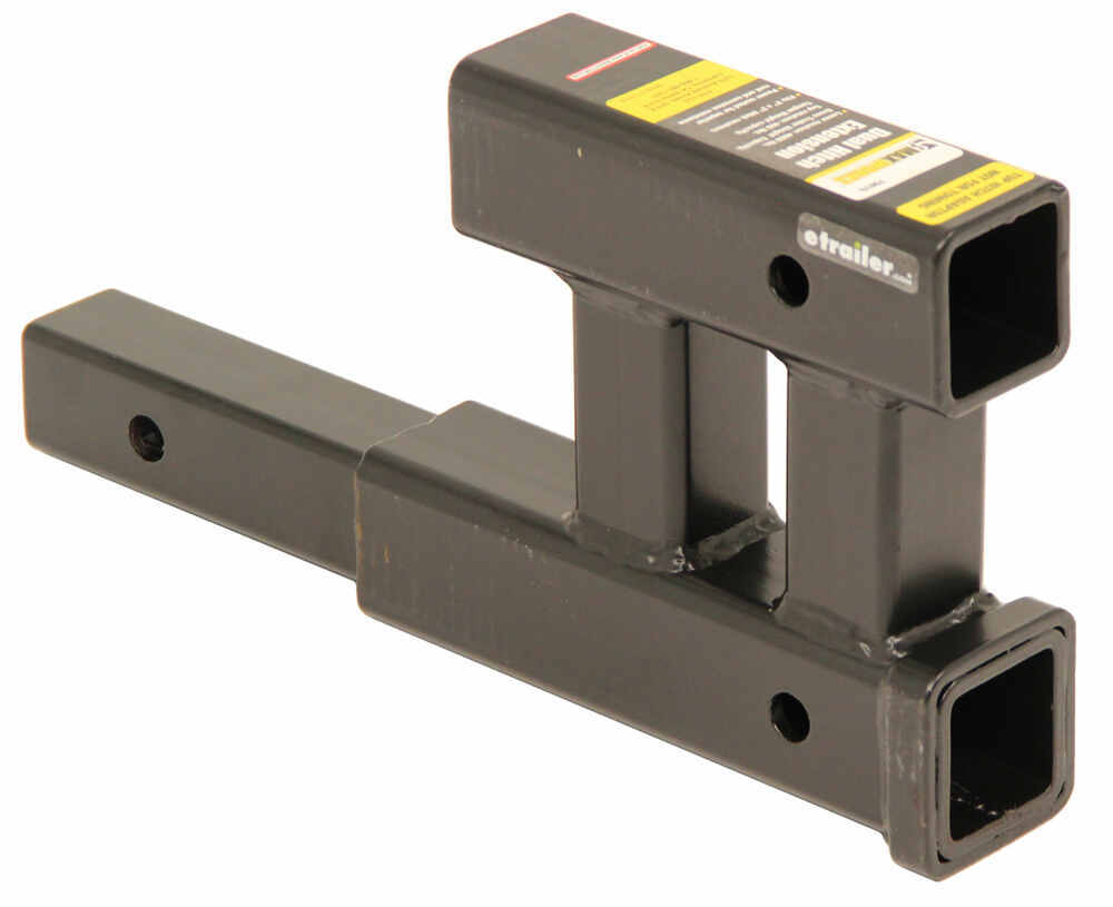 Trailer Hitch And Clips : Maxxtow dual hitch extender for quot trailer hitches