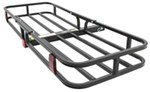 "MaxxTow 19x52 Cargo Carrier for 2"" Hitches - Black Powder Coated Steel - 500 lbs"