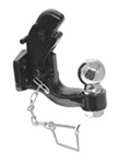 "MaxxTow Pintle Hook with 2-5/16"" Hitch Ball - Bolt On - 12,000 lbs/16,000 lbs"