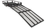 "MaxxTow 30x50 Wheelchair Carrier w/ 60"" Long Ramp - 2"" Hitches - Folding - Steel - 500 lbs"