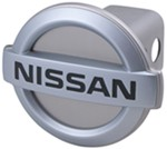 "Nissan Logo Trailer Hitch Receiver Cover for 2"" Trailer Hitches"