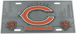 Chicago Bears NFL Sport Plate - 3D License Plate