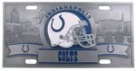 Indianapolis Colts NFL Sport Plate - 3D License Plate