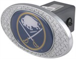 "Buffalo Sabres 2"" NHL Trailer Hitch Receiver Cover - Zinc"