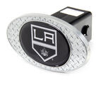 "Los Angeles Kings 2"" NHL Trailer Hitch Receiver Cover - Zinc"