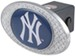 "New York Yankees 2"" MLB Trailer Hitch Receiver Cover - Zinc"