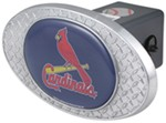 "St. Louis Cardinals 2"" MLB Trailer Hitch Receiver Cover - Zinc"