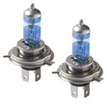 Putco PURE High-Performance H4 Halogen Headlight Bulbs - Double White
