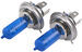 Putco PURE High-Performance H4 Halogen Headlight Bulbs - Nitro Blue