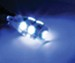 Putco PURE Premium 194 Wedge LED Bulb - 360 Degree - Blue