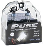 Putco PURE High-Performance 881 Halogen Headlight Bulbs - Night White