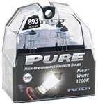 Putco PURE High-Performance 893 Halogen Headlight Bulbs - Night White