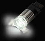 Putco 1157 LED Flashing Brake Light Bulb - White