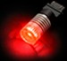 Putco 7443 LED Flashing Brake Light Bulb - Red