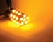 Putco PURE Premium 7443 LED Bulb - 360 Degree - Amber