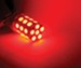 Putco PURE Premium 7443 LED Bulb - 360 Degree - Red