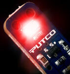 Putco Stick 194 Wedge LED Bulb - B-Type - Red