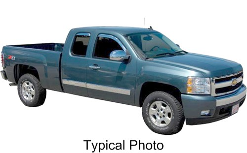 2010 GMC Sierra Vehicle Trim Putco P405408