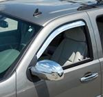 Putco 2011 Chevrolet Silverado Air Deflectors