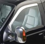 Putco 2011 Ford F-250 and F-350 Super Duty Air Deflectors