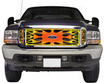 Putco 2001 Ford F-350, 450, and 550 Cab and Chassis Custom Grilles
