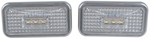 Putco PURE Universal Side Marker Lights - White LED with Clear Lens