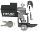 Pop & Lock Custom Tailgate Lock - Steel - Manual - Black