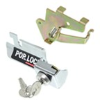 Pop & Lock Custom Tailgate Lock - Manual - Chrome