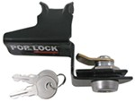 Pop & Lock Custom Tailgate Lock - Manual - Black