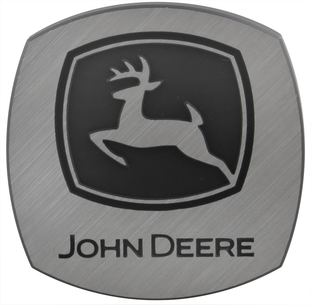 """John Deere Trailer Hitch Receiver Cover - 1-1/4"""" and 2"""" Hitches ..."""