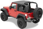 Pavement Ends Sun Cap for Jeep - Black Diamond