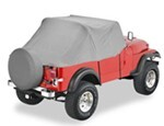 Pavement Ends 1978 Jeep CJ-7 Custom Covers