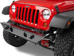 Pavement Ends 2009 Jeep Wrangler Bumper