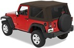 Pavement Ends Replay Soft Top Fabric for Jeep - Tinted Windows - Doors Not Included - Khaki Diamond
