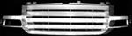 Pilot Automotive 2005 GMC Sierra Custom Grilles