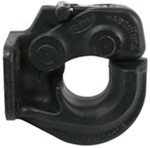 Holland Pintle Hook with Fast Latch - 30,000 lbs GTW, 6,000 lbs TW