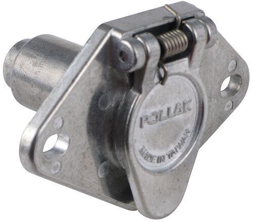 heavy dudy trailer plug wiring diagram pollak heavy-duty, 4-pole, round pin trailer wiring socket ... #4