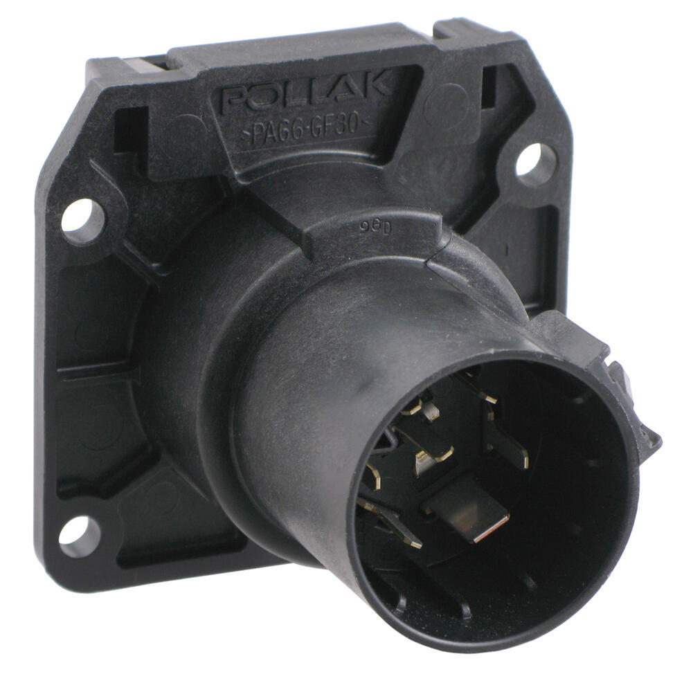 Pollak Replacement 7 Pole RV Style Trailer Connector